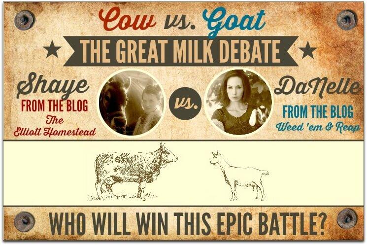 Cow vs. Goat: The Great Milk Debate