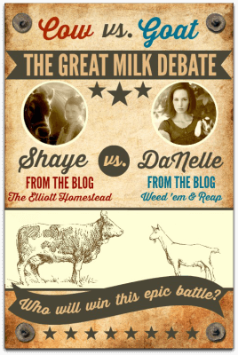 Cow vs. Goat: The Great Milk Debate
