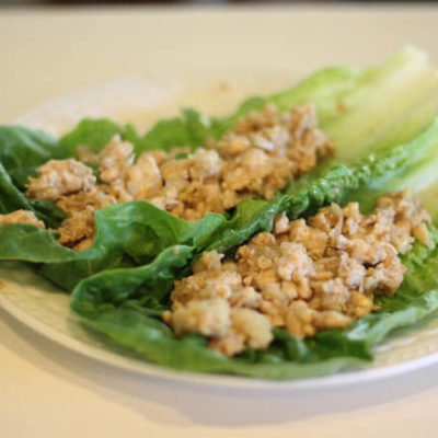 Copycat PF Changs Asian Lettuce Wraps