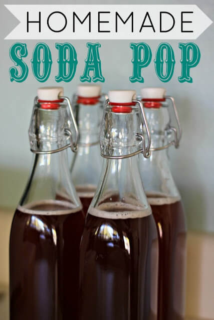 Homemade Soda Pop!