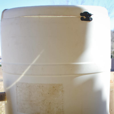 DIY Spinning Composter
