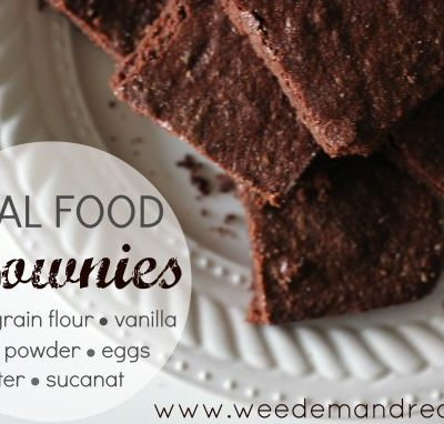 Real Food BROWNIES!