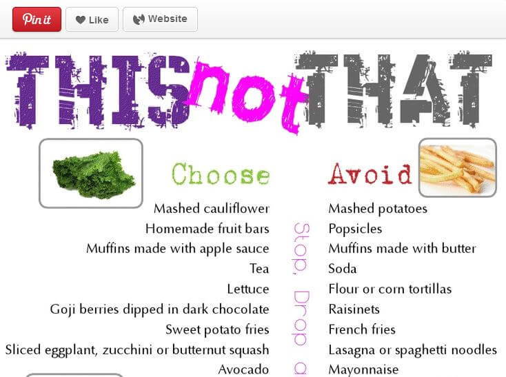 "The Worst ""Healthy"" Pins on Pinterest"