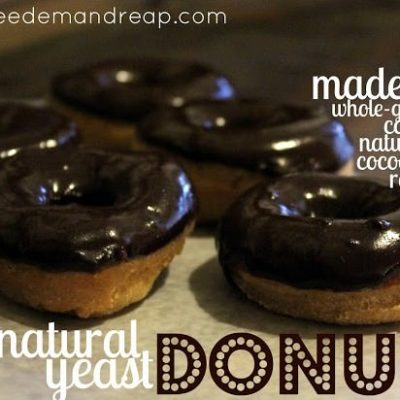 Natural Yeast DONUTS!