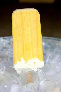 lemon meringue popsicle