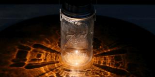 How to make a Mason Jar Solar Lamp!