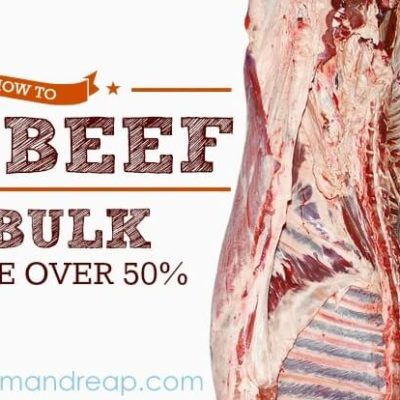 How to Purchase Grass Fed Beef in Bulk and Save Over 50%!