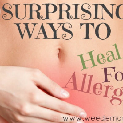3 Surprising ways to Heal Food Allergies