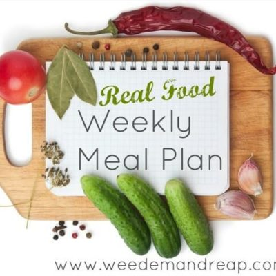 Weekly Meal Plan 7/7/2013