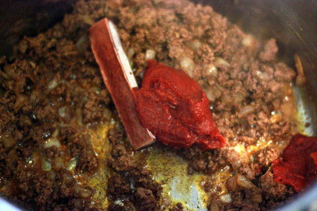 Beef Chili & Soaked Cornbread