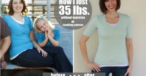 My Weight Loss Story: How I lost 35 lbs. without exercise or counting calories