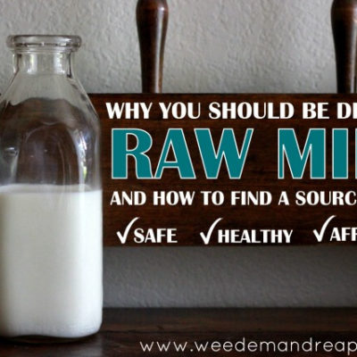 Why YOU should be drinking Raw Milk…