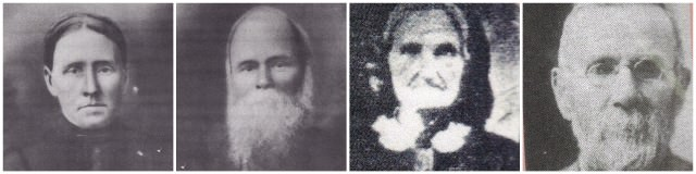 four pictures of DaNelle's ancestors