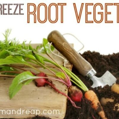 How to Freeze Root Vegetables