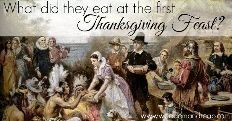 What did they eat at the first thanksgiving feast for What do people eat on thanksgiving