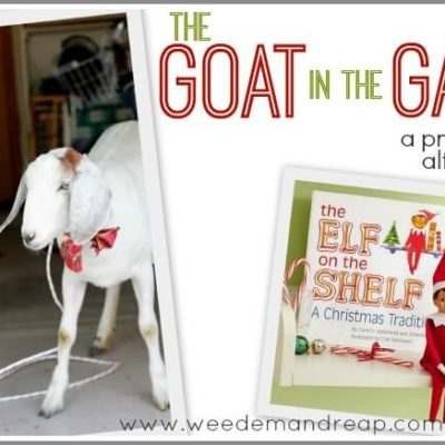 The Goat in the Garage: A practical alternative to the Elf on the Shelf