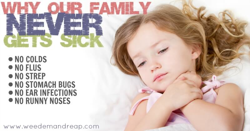 Why Our Family Never gets Sick | Weed 'Em and Reap