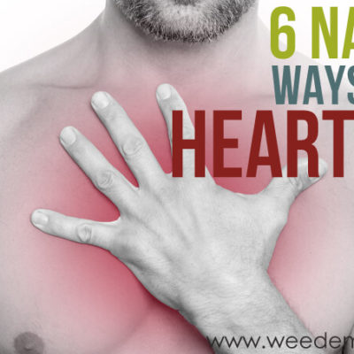 Six Natural Ways to Stop Heartburn