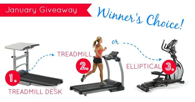 Win a Treadmill Desk!!