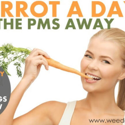 A carrot a day keeps the PMS away
