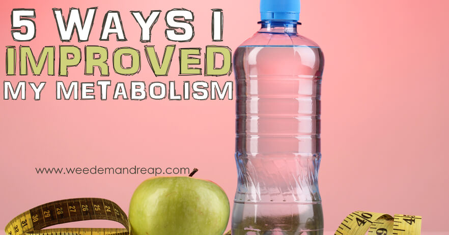5 Ways I Improved my Metabolism | Weed 'Em And Reap