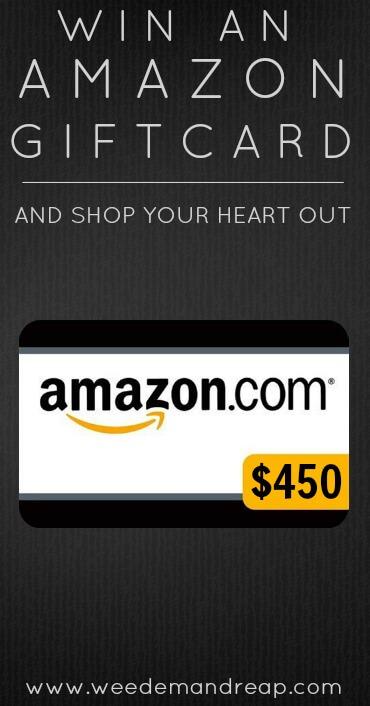 Win an AMAZON Gift Card!