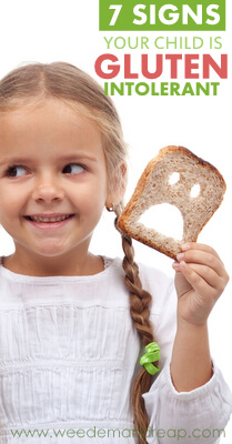 7 Signs Your Child is Gluten Intolerant
