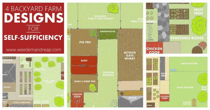 Backyard Farm Designs For Self Sufficiency Weed Em Reap