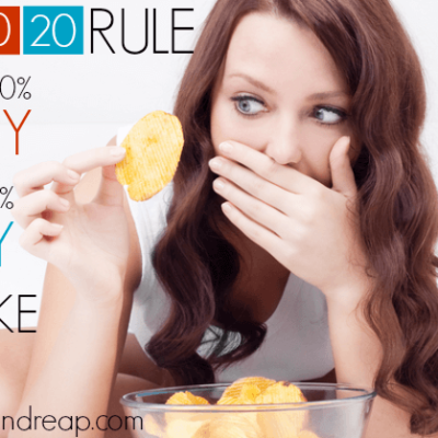 The 80/20 Rule: What eating 80% HEALTHY & 20% CRAPPY Looks Like