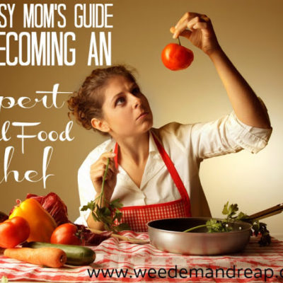 The Busy Mom's GUIDE to Becoming an Expert Real Food Chef!