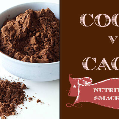 Cocoa vs. Cacao: Nutritional Smackdown