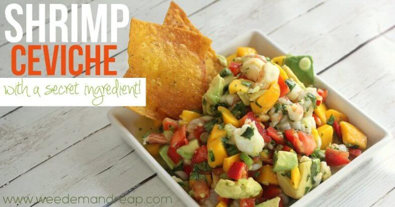 Recipe | Shrimp Ceviche
