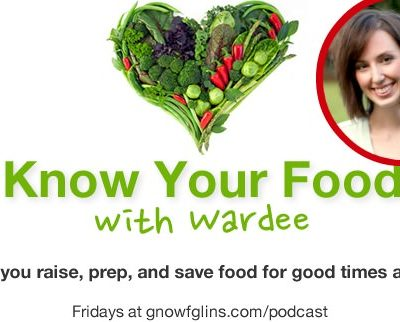 Listen to my interview on the Know Your Food Podcast!
