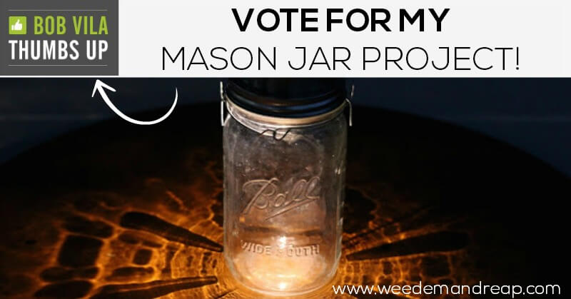 Vote for my Mason Jar Project!