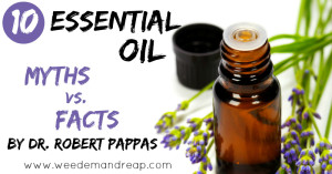 Essential Oil Myths Facts Dr. Robert Pappas