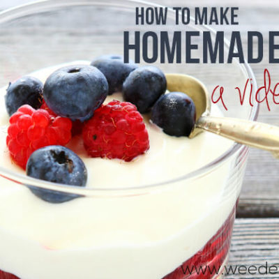 Recipe | Homemade Yogurt Video Tutorial