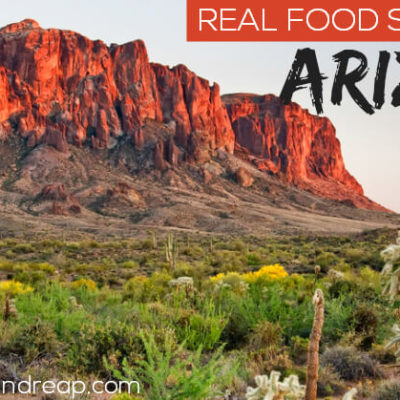 Real Food Sources in Arizona