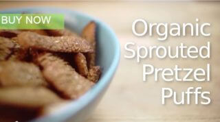 organic Sprouted Pretzel Puffs