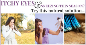 itchy eyes and sneezing solution