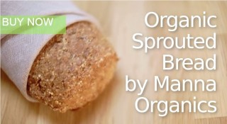 organic sprouted bread by Manna Organics