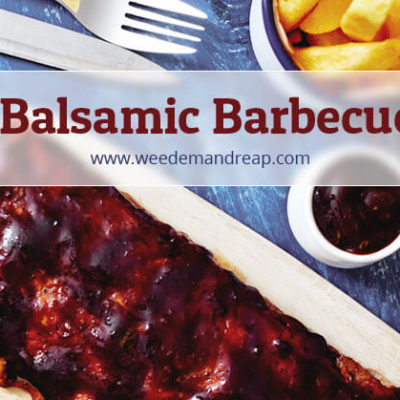 Recipe | Sweet Balsamic Barbecue Glaze