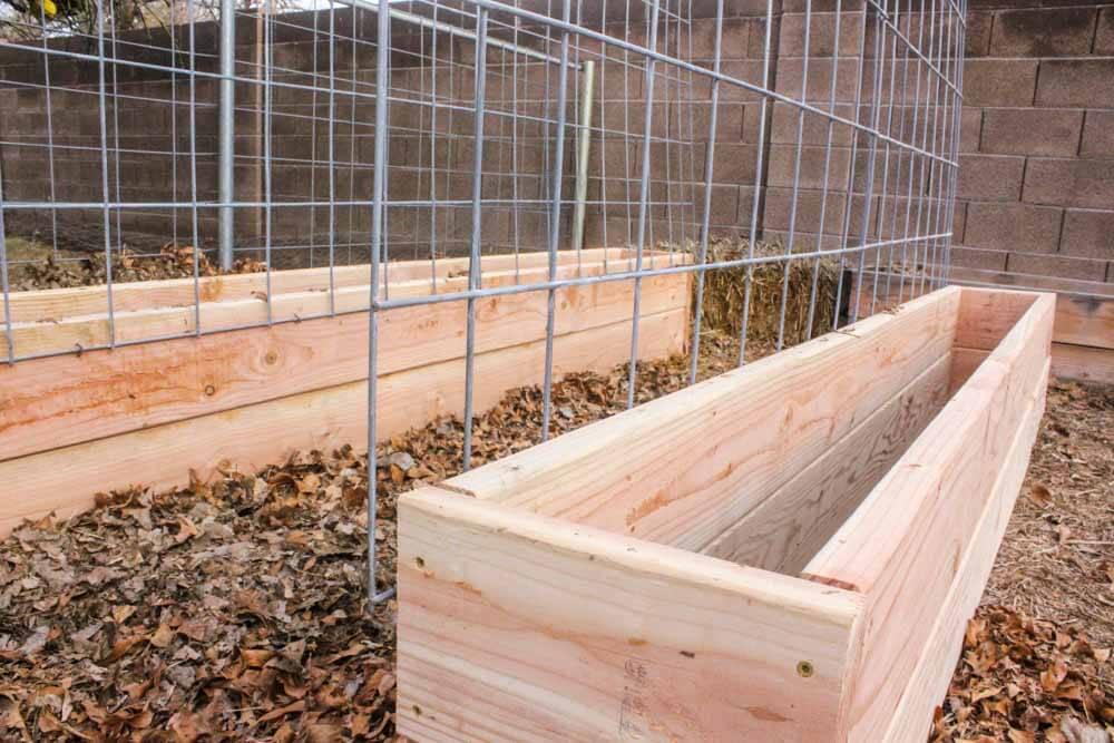 How To Make A Trellis Raised Garden Box Combo