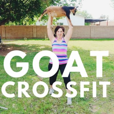 GOAT CROSSFIT. Yep, it's a thing.
